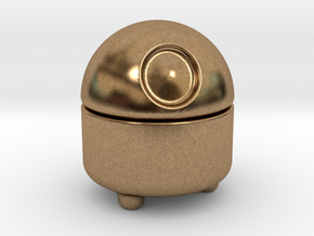Bit Bit - Your personal pet robot in Natural Brass