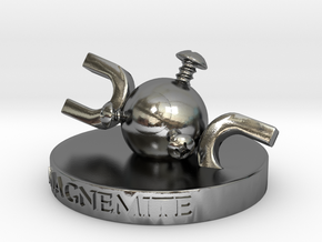 Magnemite  in Polished Silver