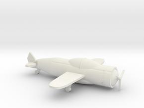 Airplane in White Natural Versatile Plastic