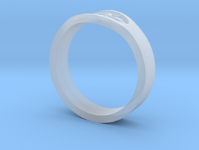 Keeper Ring in Smooth Fine Detail Plastic