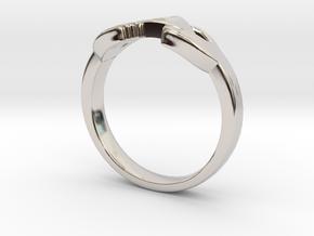 Triforce Zelda Ring Size German 18 in Platinum