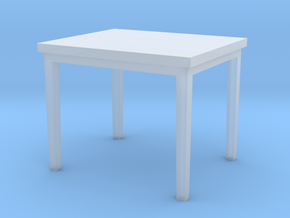 1:48 Rectangular Table in Smooth Fine Detail Plastic