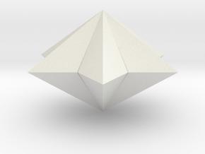 pyramid 6star closed in White Natural Versatile Plastic