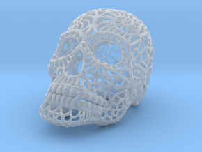 Nautilus Sugar Skull - MEDIUM in Smooth Fine Detail Plastic