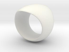 sinoidring single 2nd in White Natural Versatile Plastic