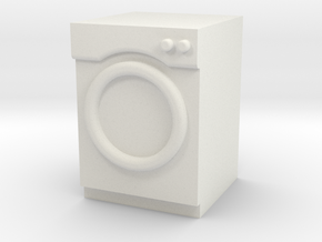 1:24 Washer/Dryer in White Strong & Flexible