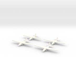 Aeronautica Lombarda AL-12P (x4) 1/700 (Italian) in White Processed Versatile Plastic