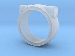 Through in Smooth Fine Detail Plastic