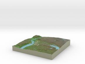 Terrafab generated model Sat Jan 11 2014 12:32:46  in Full Color Sandstone