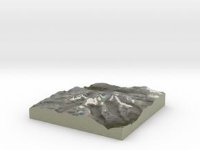 Terrafab generated model Fri Jan 10 2014 19:35:12  in Full Color Sandstone