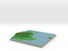 Terrafab generated model Fri Dec 27 2013 19:43:35  in Full Color Sandstone