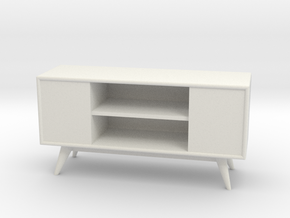 1:24 Moderne Credenza in White Strong & Flexible