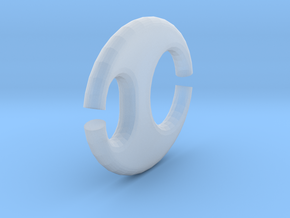 Ellipse chain element in Smooth Fine Detail Plastic