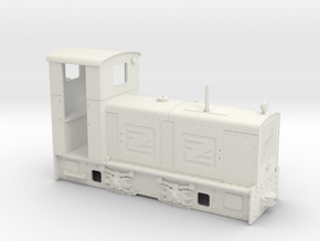 Feldbahn Jung ZL 233 (1:32) in White Natural Versatile Plastic