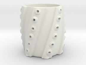 Squid Cup in White Natural Versatile Plastic