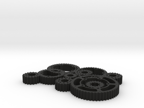 gears in Black Strong & Flexible