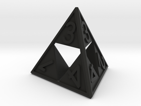 Triforce D4 in Black Strong & Flexible