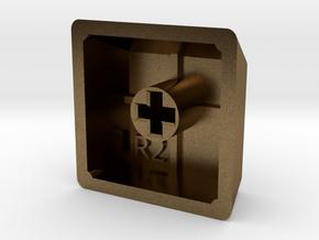 Blank Keycap (R2, 1x1) in Natural Bronze