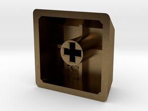 Blank Keycap (R3, 1x1) in Natural Bronze