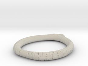 Minimalist Bracelet 5 in Natural Sandstone