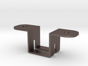 TVAN kitchen light bracket in Polished Bronzed Silver Steel