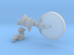 Mars Rover HGA Dish 1:4 Scale in Frosted Ultra Detail
