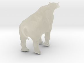 Indricotherium  12cm in Transparent Acrylic