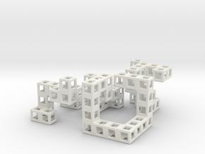 Ludlow in White Natural Versatile Plastic