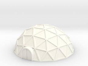 Geodome ⌀42mm  (1/285) in White Processed Versatile Plastic