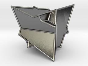 Icosa in Polished Silver