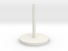 Space Craft Stand (FTL)  in White Natural Versatile Plastic