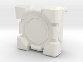 Companion Cube 2-parts 100x100 in White Strong & Flexible