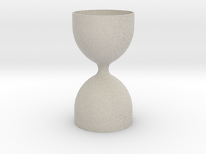 Hourglass V1 in Natural Sandstone