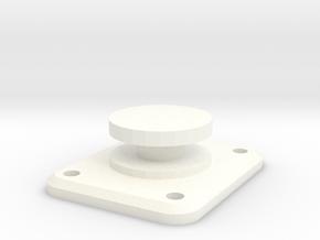 Droid1 mount in White Processed Versatile Plastic
