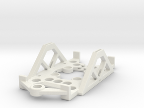 ARD4-BAT-TRAY in White Natural Versatile Plastic