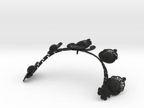 AV tiara in Black Strong & Flexible
