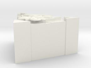 Millennium Puzzle in White Natural Versatile Plastic