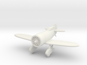 GAAR07 Gee Bee Model Z in White Natural Versatile Plastic