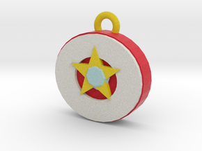 star gem pendant in Full Color Sandstone