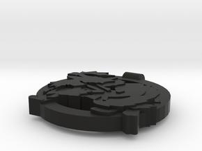 Arcanine Pendant in Black Strong & Flexible