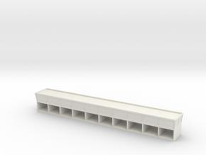 Pit Building Light in White Natural Versatile Plastic
