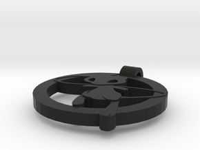 Mew Pendant in Black Strong & Flexible