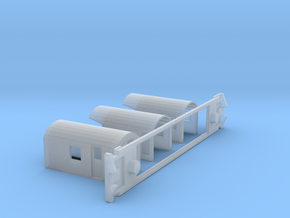 AG Luggage/Generator, NZ, (HO Scale, 1:87) in Smooth Fine Detail Plastic