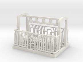 AG/FM Van Handrails, NZ, (S Scale, 1:64) in White Natural Versatile Plastic