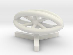 MS Cruiser in White Natural Versatile Plastic