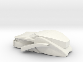 Dozer 2.0 in White Natural Versatile Plastic