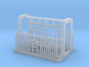 AG/FM Van Handrails, NZ, (NZ120 / TT, 1:120) in Smooth Fine Detail Plastic