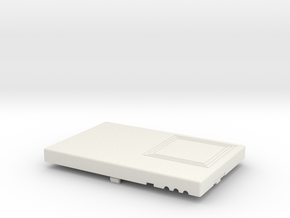 BT RFID Reader v1 2 Top in White Strong & Flexible
