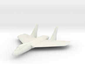 F7U Cutlass 1:285 x1 in White Natural Versatile Plastic