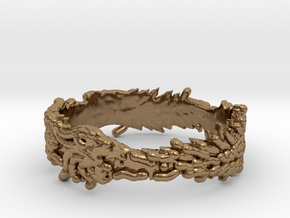 OuroBoros Ring Size 11.25 in Natural Brass